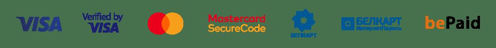 Платежные логотипы